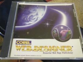 Corel Web.Designer - Powerful Web Page Publishing (PC, 1996) - $9.79
