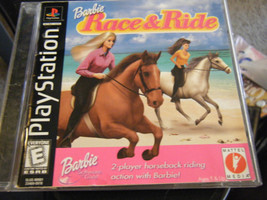 Barbie Race & Ride (PlayStation, 1999) - Complete!!!! - $8.01