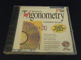 Pro One Multimedia Trigonometry (PC, 1995)  - $8.90