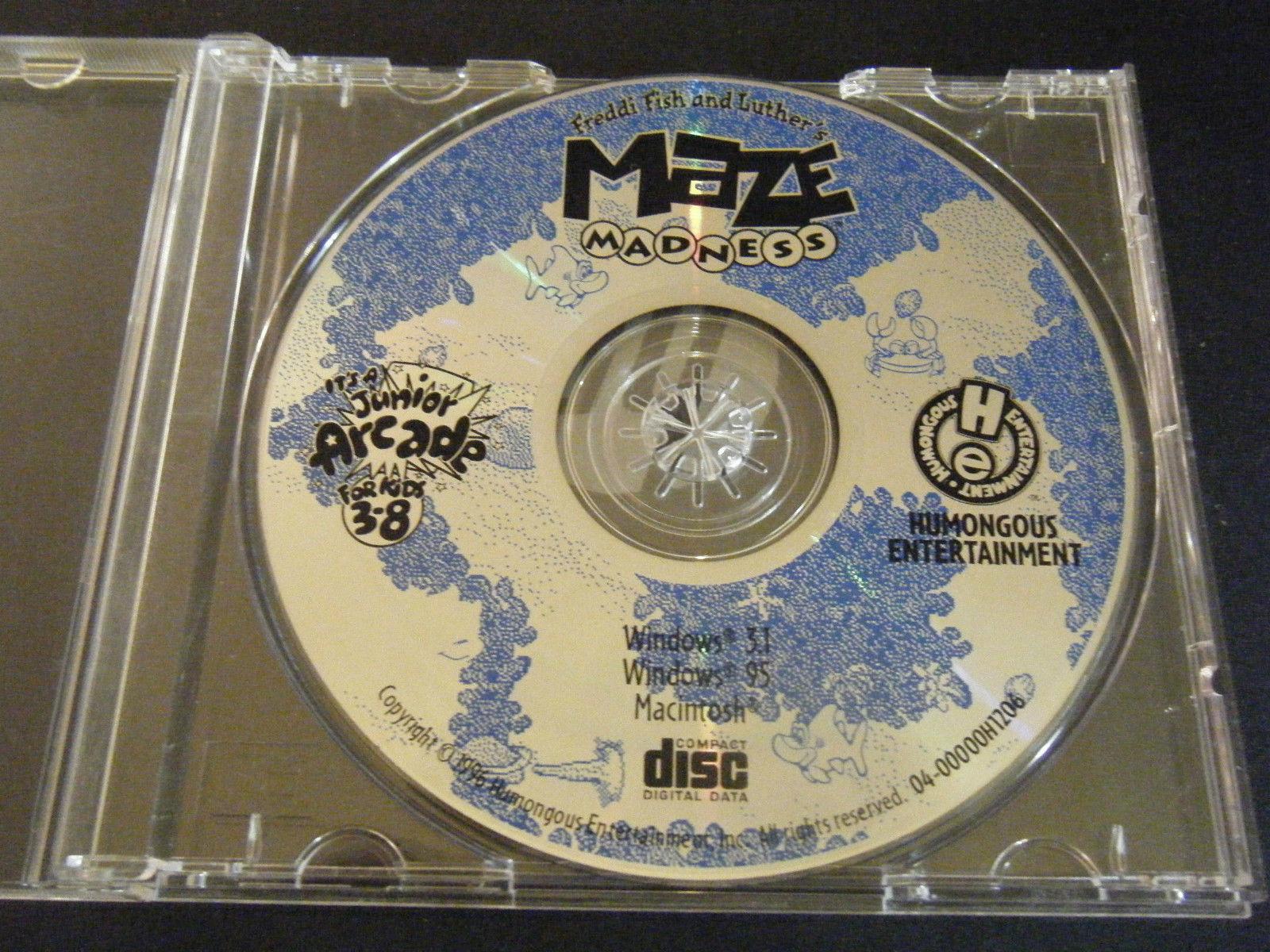 Freddi Fish and Luther's Maze Madness (PC & Mac, 1996 ...