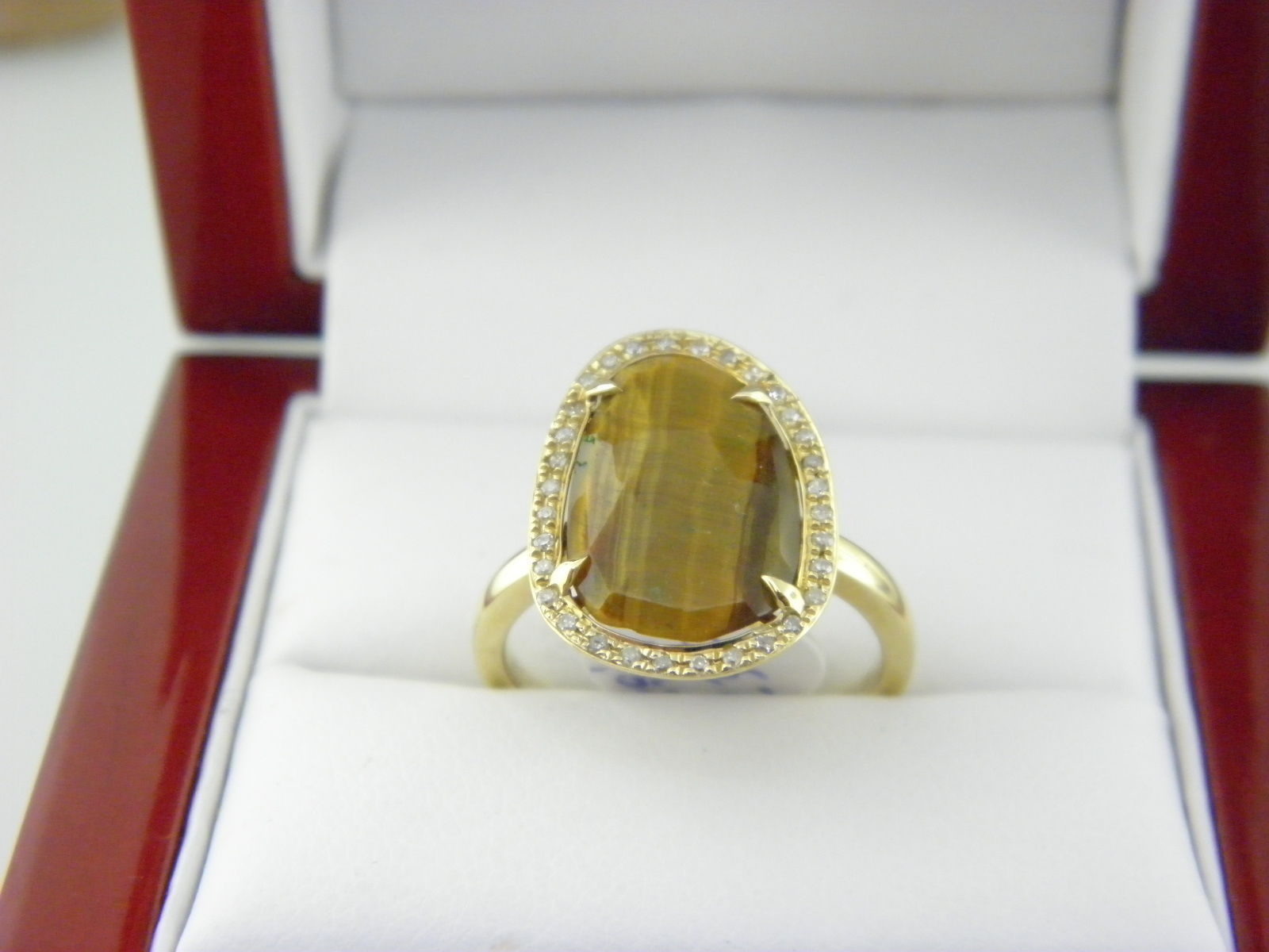 rings ring metallic people free citrine raw in slice gallery lyst jewelry