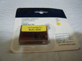 Canon Compatible Yellow Ink Cartridge BJC 600 - NEW!!! - $5.76