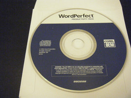 Corel WordPerfect Productivity Pack (PC, 2004) - Replacement Disc Only!!! - $7.91