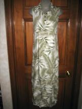 Ladies Caribbean Joe Floral Print Sleeveless Dress - Size M - $15.14