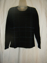 Ladies Talbots Beaded Front Wool Sweater - Size 8 - $13.72