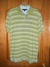 Men's Tommy Hilfiger Striped Polo Shirt - Size M - $13.36