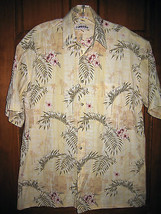 Men's Campio Moda Hawaiian Style Shirt - Size Medium - $11.57