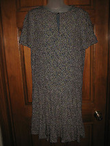 Ladies Anne Klein II Polka Dot Dropped Waist Dress - Size 4 - $18.70