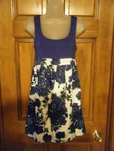Ladies Twenty One Floral Print Skirt Tank Dress - Size S - $14.25