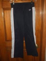 Nike Black w/Pink & White Trim Athletic Pants - Size S (4-6) - $14.71