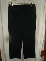 Ladies Talbots Black Cotton Stretch Capri Pants - Size 8 - $14.71