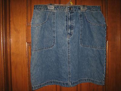 Ladies High Sierra Denim Skirt - Size 16 - $14.71