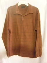 Men's BB Studio Bill Blass LS Striped Shirt - Size L - $10.68