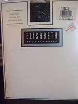 Elisabeth by Liz Claiborne Silky Sheer Control Top Pantyhose - Navy - Size 3 - $7.84