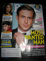 People Magazine - Ryan Gosling Cover - January 21, 2013 - $8.02