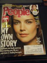 People Magazine - Katie Holmes Cover - November 10, 2014 - $4.45
