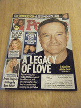 People Magazine - Robin Williams Cover - December 29, 2014 - $4.91