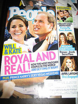 People Magazine - Will & Kate:  Royal And Real! Cover - September 3, 2012 - $7.12