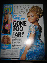 People Magazine - Special Double Issue - September 26, 2011- Toddlers & Tiaras - $6.24