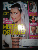 People Magazine - November 14, 2011 - Kim Kardashian 72 Day Marriage Cover - $5.35