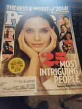 People Magazine - 25 Most Intriguing People Issue - December 22, 2014 - $6.24