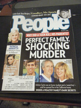 People Magazine - Perfect Family, Shocking Murder Cover - March 16, 2015 - $4.91