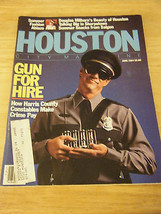 Vintage Houston City Magazine - Life With Roaches Cover - July, 1984 - $13.37