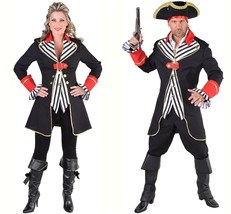 Gents Pirate Costume - Striped Waistcoat style - XS-XXL - $62.59+