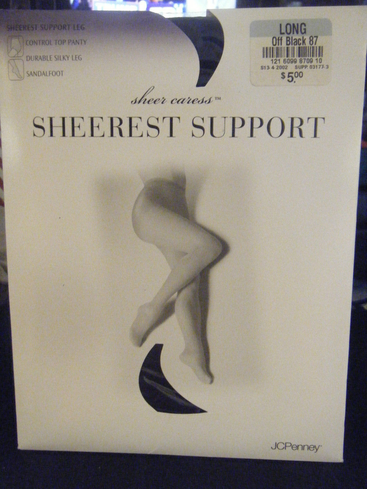 bf03004f678 JCPenney Sheerest Support Control Top and 40 similar items