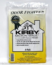 Kirby Micron Magic Odor Fight F Style Vacuum Bags 6 Pack 202916 - $38.95