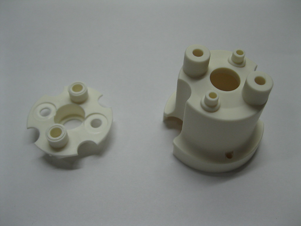 2 NEW Williams Bally Stern White Plastic Pop Bumper Body & Base