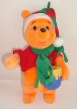 Winnie the Pooh Santa's Best EZ Light Animated ... - $12.97