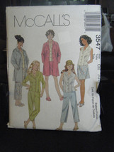 McCall's 3547 Girl's Unlined Jacket, Tops, Capris & Skirt Pattern - Size... - $5.93