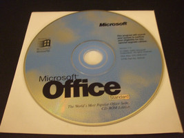Microsoft Office Standard Version 7.0 Windows 95 Upgrade Disc (1995) - D... - $9.89