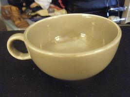 Mid Century Modern Universal Potteries Ballerina Dark Gray Coffee Cup - $19.79