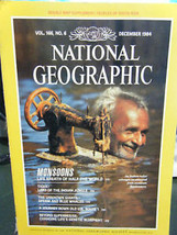 National Geographic Vol. 166 No. 6 December 1984 - $4.20