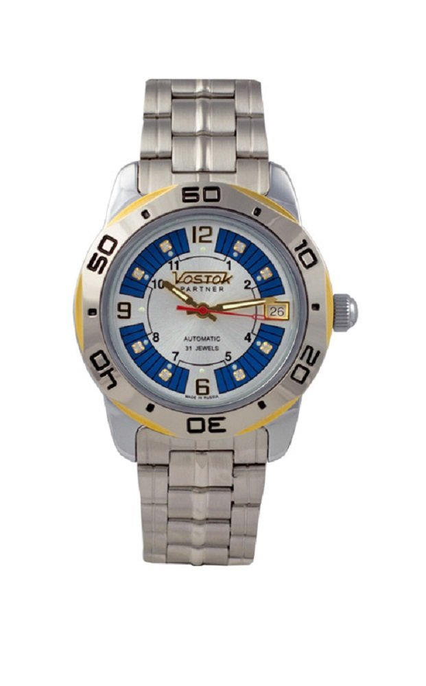 Vostok Partner 291079 / 2416b Mechanical Auto Wrist Watch Shockproof Waterpro...