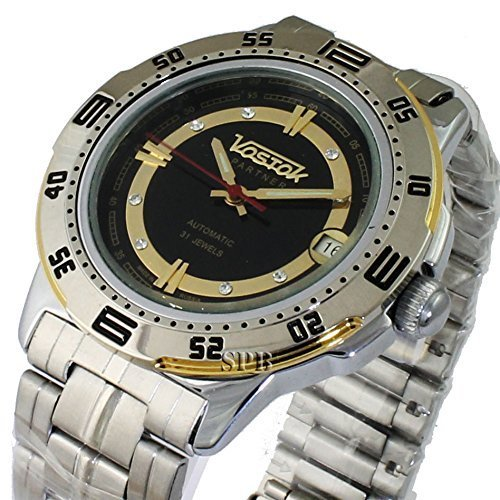Vostok Partner 311279/2416b Mechanical Auto Wrist Watch Shockproof Waterproof...