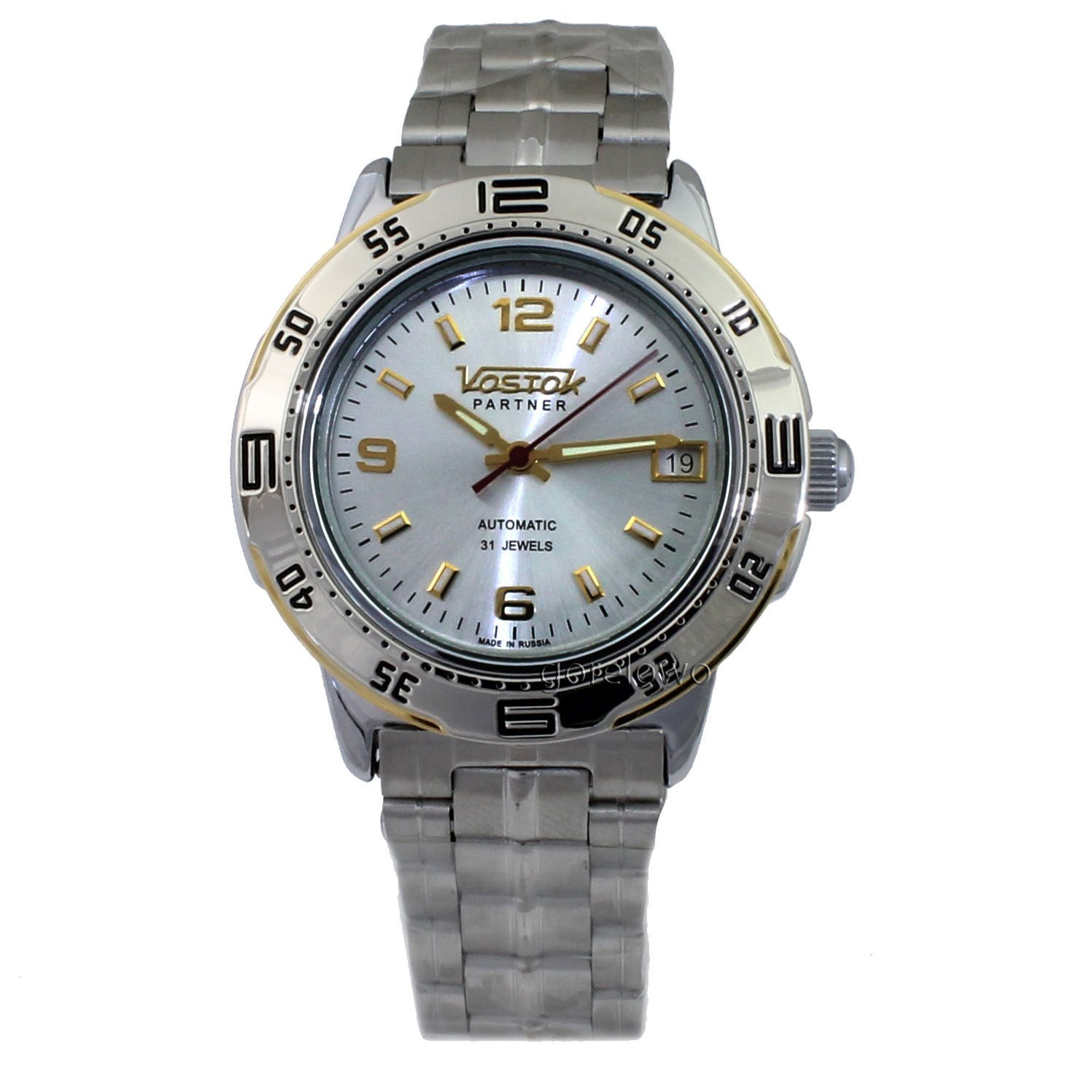 Vostok Partner 311191 / 2414b Mechanical Auto Wrist Watch Shockproof Waterpro...