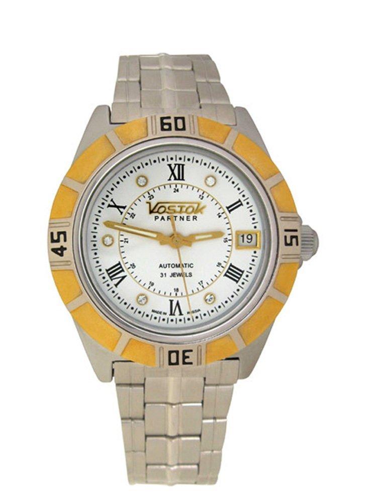 Vostok Partner 251014 / 2414b Mechanical Auto Wrist Watch Shockproof Waterpro...