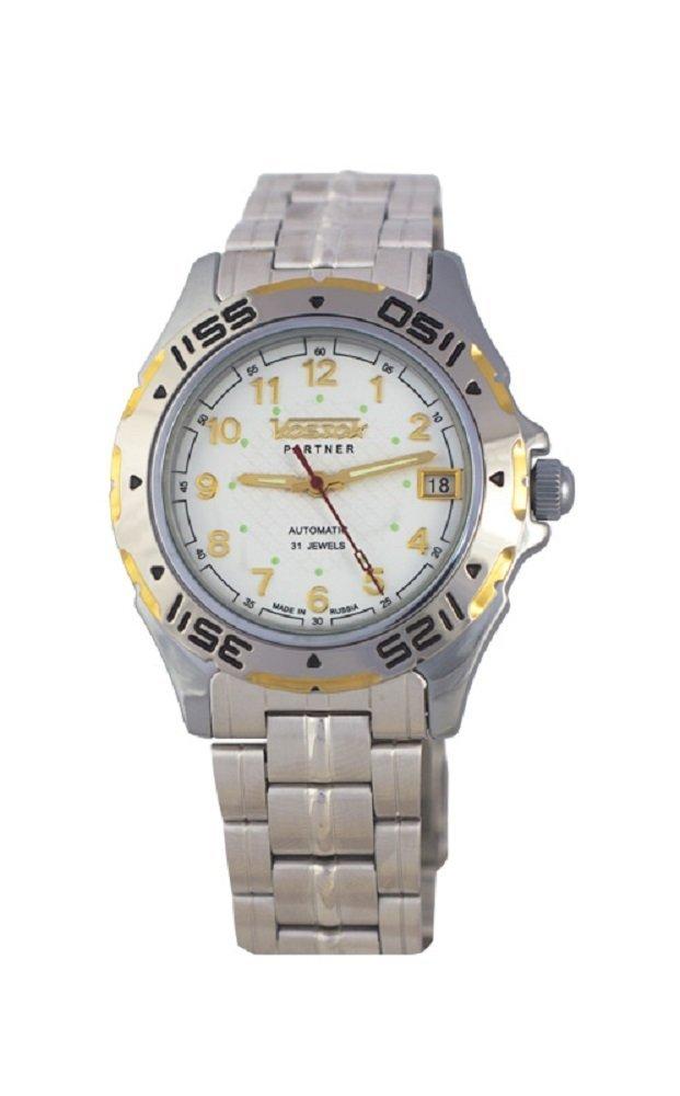 Vostok Partner 301733 / 2416b Mechanical Auto Wrist Watch Shockproof Waterpro...