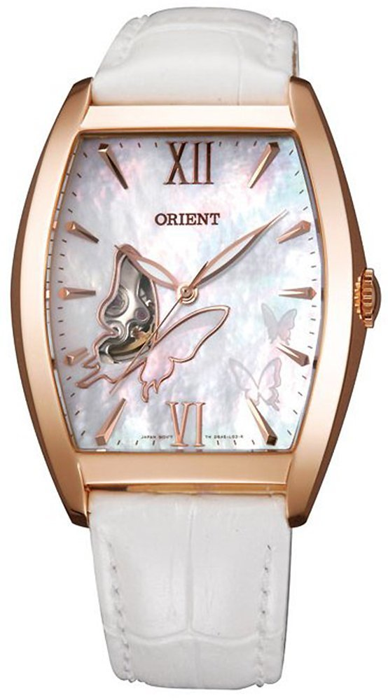 ORIENT Butterfly Fashionable Automatic Pearl White Watch DBAE002W