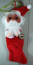 """NEW! Norfin Troll Santa Christmas Stocking """"Tis the Season to Adopt a No... - $29.60"""