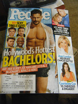 People Magazine - Hollywood's Hottest Bachelors Cover - July 14, 2014 - $6.24
