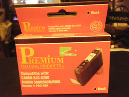 Premium Imaging Products PBCI-6BK Black Ink Cartridge - NEW!!! - $5.93