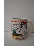 "Peanuts Snoopy Coffee Mug ""A Dog's Whole Life Is Ridiculous!"" 2011 - $14.99"
