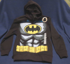 Batman  Hoodie with Mask and Bat Ears & Cape Size 6/7 - $27.70