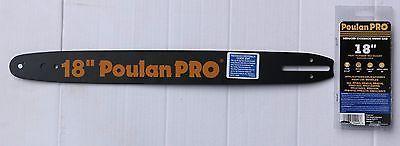 Poulan Pro chainsaw 18 inch bar  50 ga 62 dl 3/8 pitch OEM 952044689