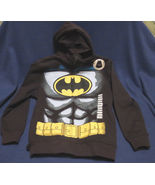 Batman  Hoodie with Mask and Bat Ears & Cape Size 8 - $27.70