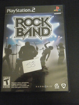 Rock Band (Sony PlayStation 2, 2007) - Complete!!!! - $5.93